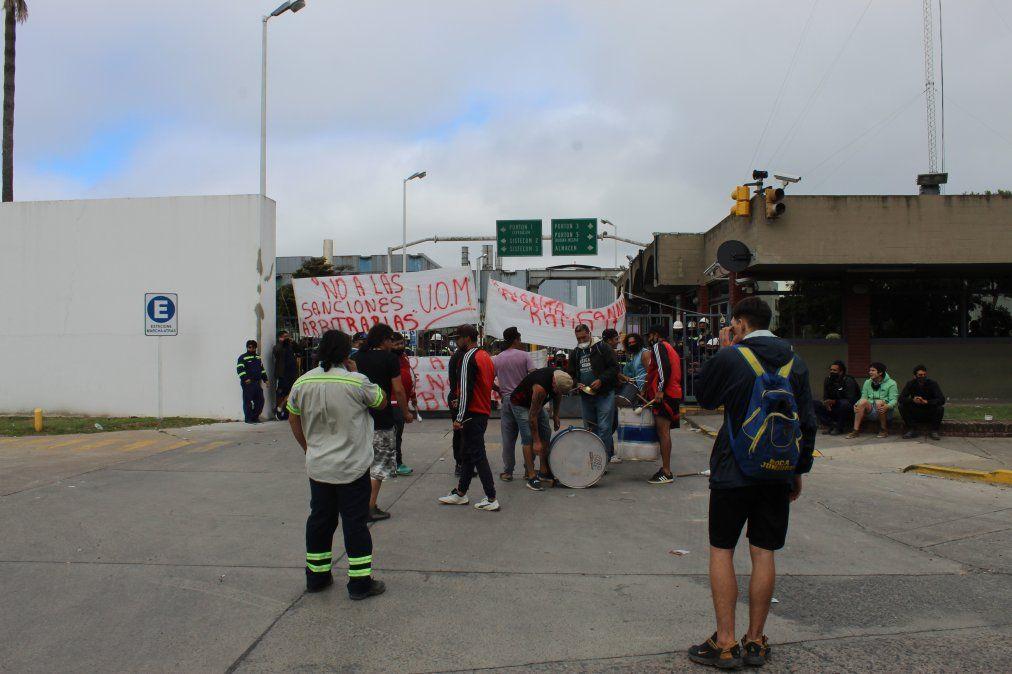 Canning: sin acuerdo entre los trabajadores y Siderar, continúa el paro total en la planta