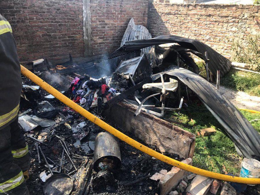 Incendio fatal en Glew: murió una nena de dos años