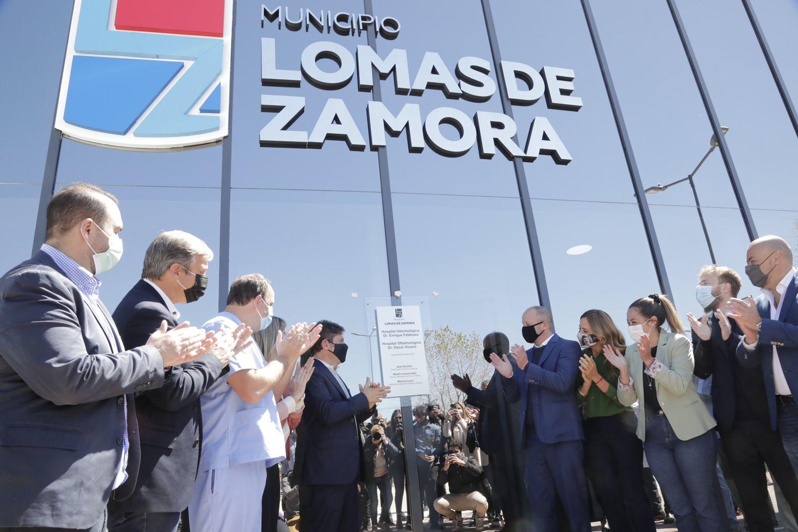 kicillof e insaurralde inauguraron el nuevo hospital de lomas