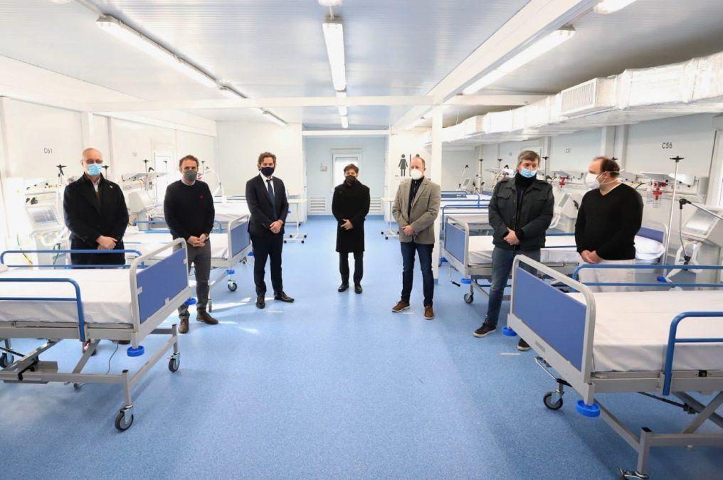 Lomas de Zamora: se inauguró el nuevo Hospital Modular con Insaurralde, Kicillof y Máximo K