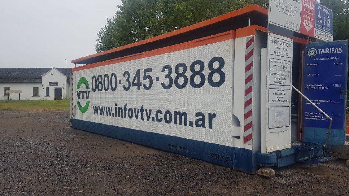 Vuelve la VTV móvil a San Vicente