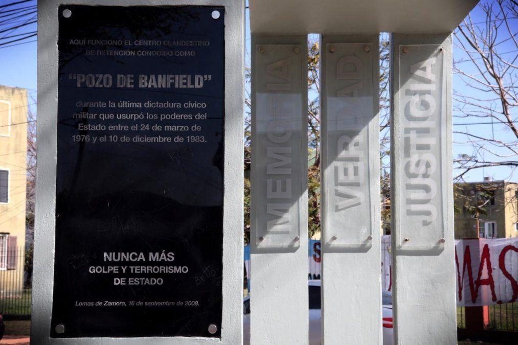 Homenaje en el ex Pozo de Banfield: anunciaron la puesta en valor del espacio para la memoria