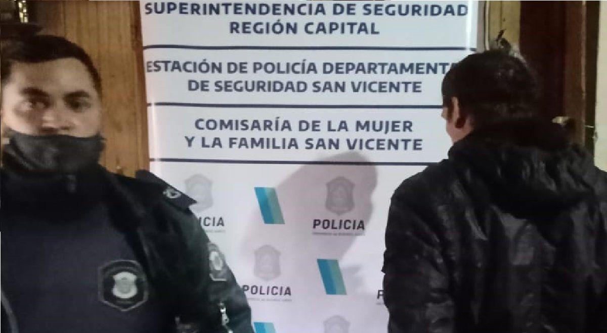Allanamiento en Alejandro Korn: ataque a la Policía, secuestro de drogas y violencia de género