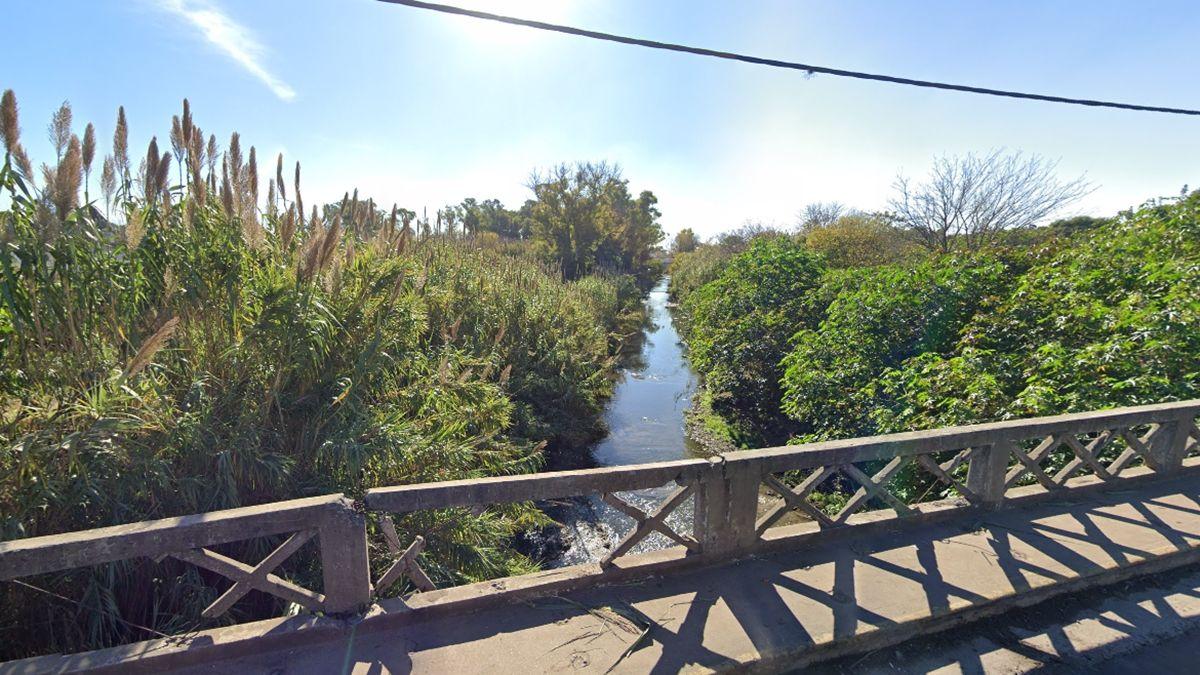 Arroyo del Rey desde el puente de la calle Garibaldi
