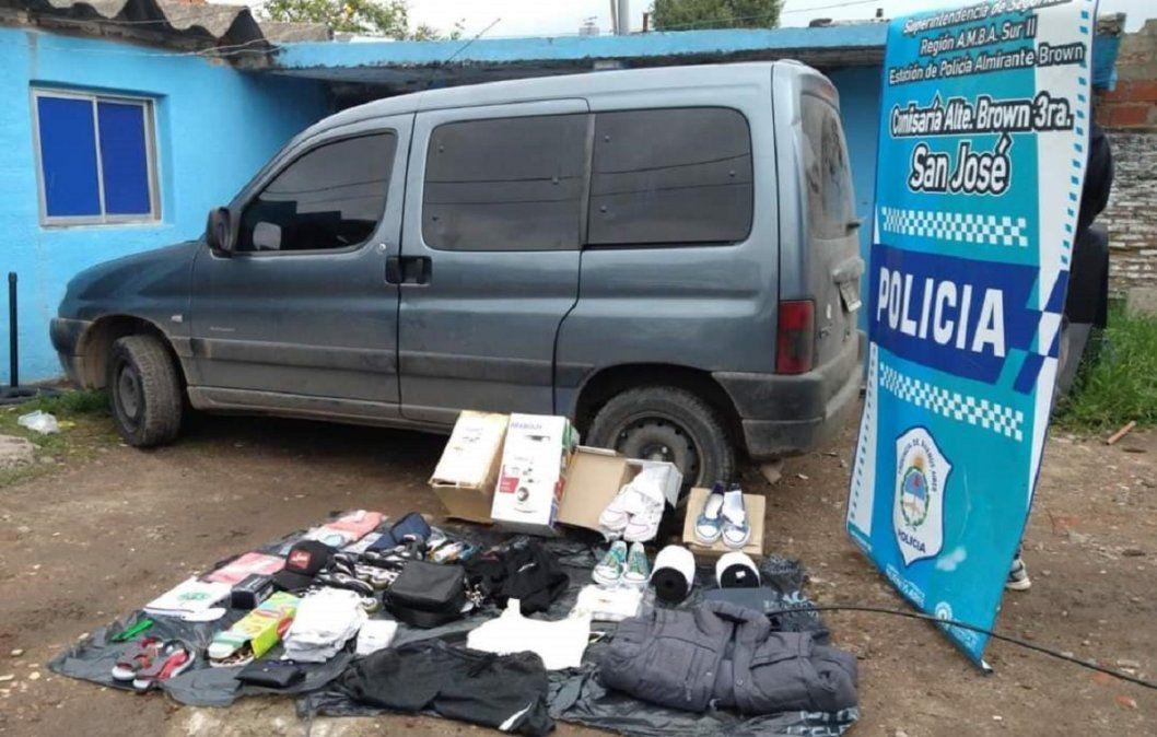 San José: piratas del asfalto le robaron a un repartidor