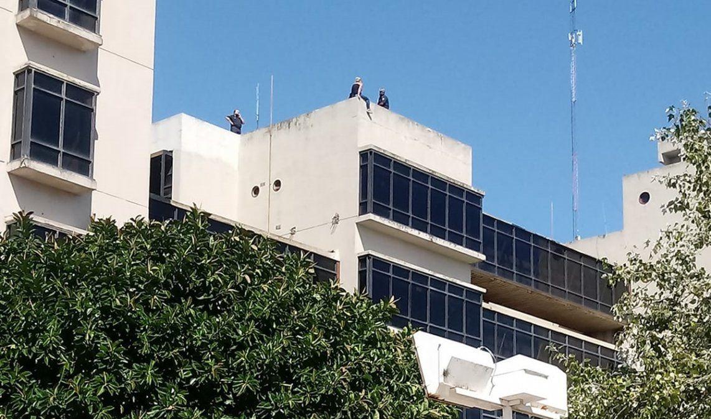 Tribunales de Lomas de Zamora: una mujer amenazó con suicidarse