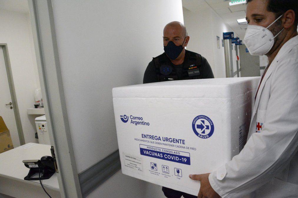 Lomas de Zamora recibió una nueva tanda de vacunas contra el coronavirus