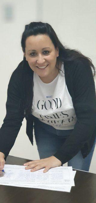 Cecilia Gómez, una sorpresa en el cierre en Lomas.