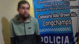 longchamps: internan en un neuropsiquiatrico al acusado de torturar a su madre
