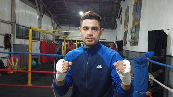 Del drama de la villa a la ilusión en el ring: un boxeador de Monte Grande que da pelea en la vida
