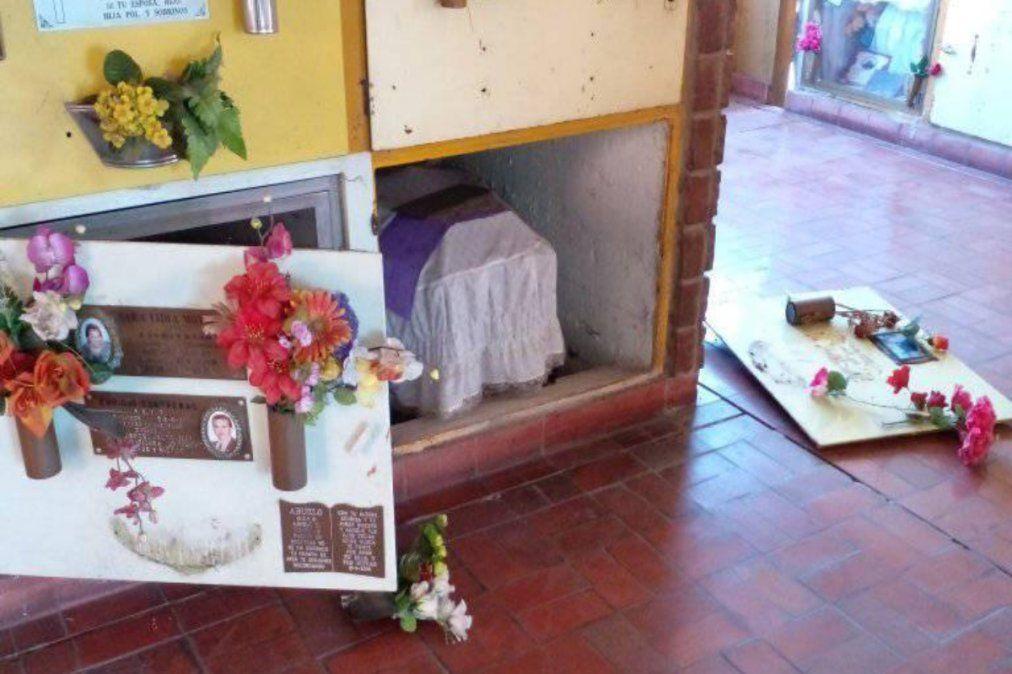 Ola de robos y destrozos en el Cementerio de Lanús