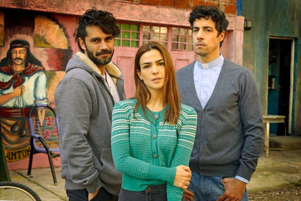 Agustina Cherri, Esteban Lamothe y Gonzalo Heredia, protagonistas de la nueva novela de El Trece.