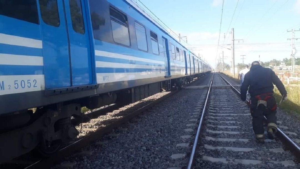 Por accidente en Guernica el Tren Roca se ve interrumpido