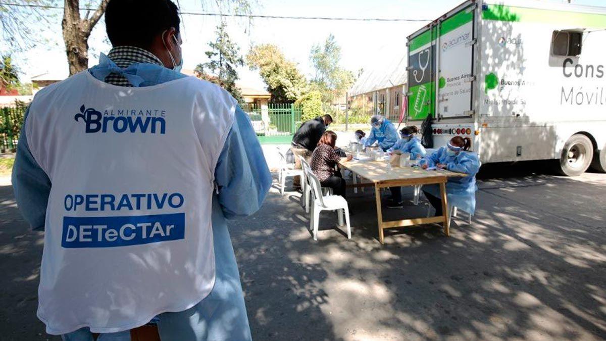 Almirante Brown superó los 25 mil contagios de coronavirus