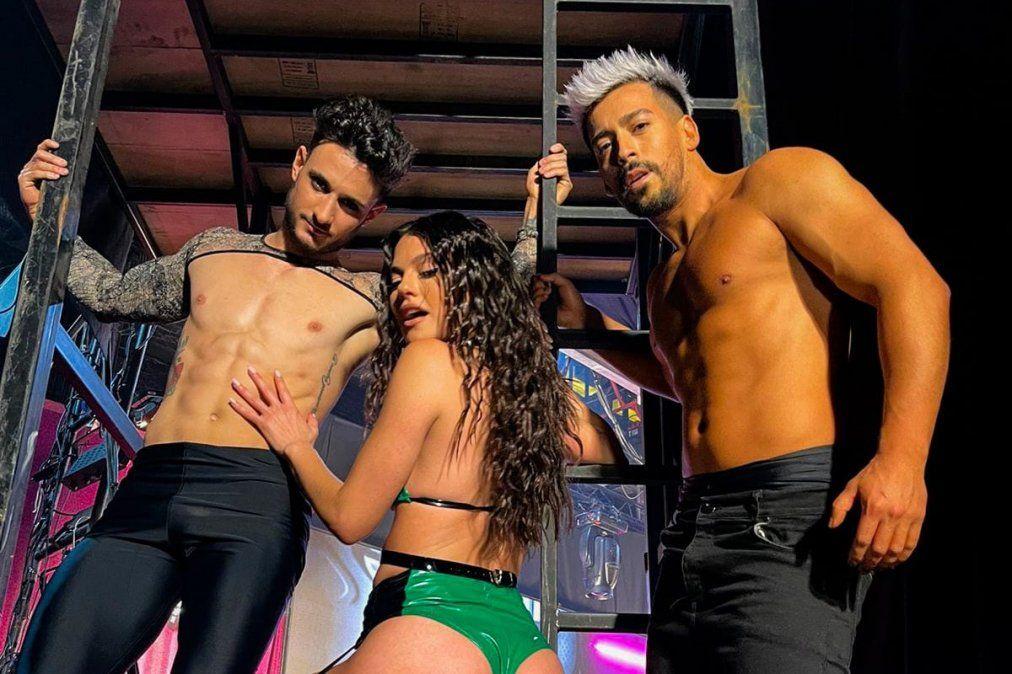 Un bailarín de Monte Grande participa en Showmatch con Luli Salazar: su historia y sus viajes por el mundo