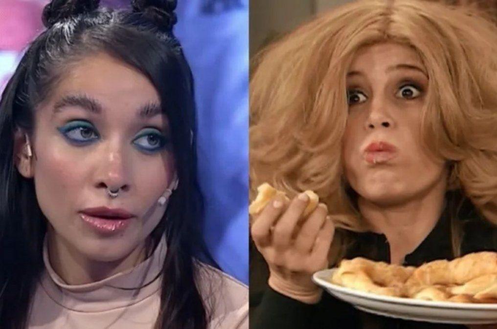 María Becerra cantó una canción nueva en un vivo y en las redes la compararon con Moni Argento