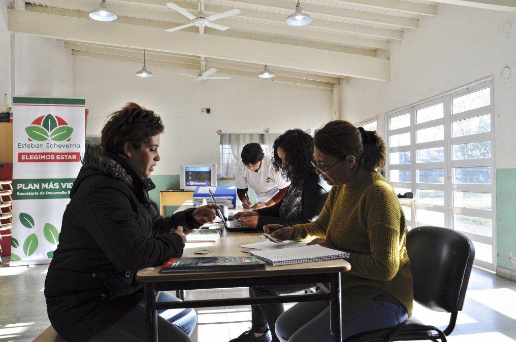 Plan Más Vida: dónde inscribirse en Esteban Echeverría