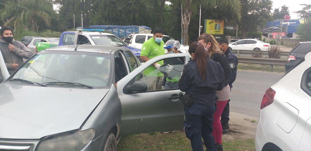 Choque en cadena en Canning: una mujer resultó herida