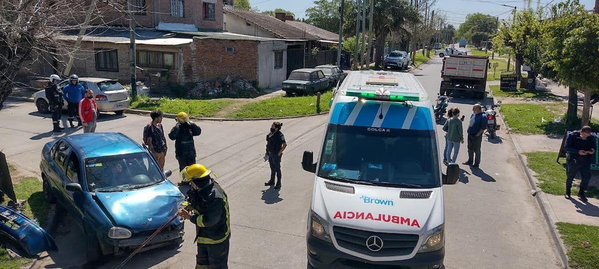 burzaco: hubo tres choques en cuatro horas, con varios hospitalizados