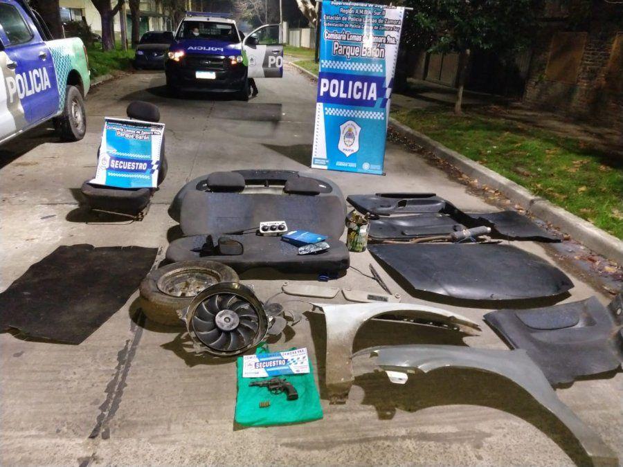 Lomas de Zamora: cayó una banda dedicada al robo de autos