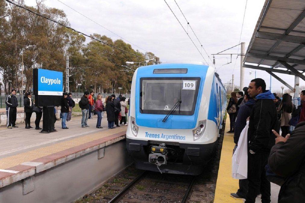 La estación de Claypole deja de ser cabecera del tren Roca: por cuánto tiempo será