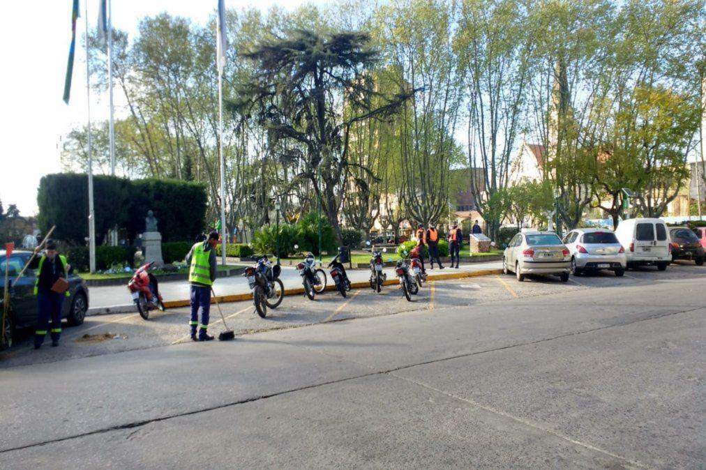 Empieza el operativo en Monte Grande por el Día de la Primavera