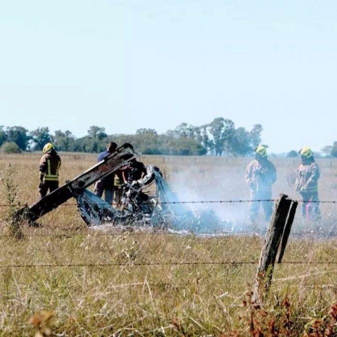 Se estrelló una avioneta en Cañuelas y murieron 2 personas