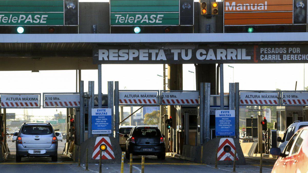 Desde hoy es obligatorio el uso de Telepase en los peajes de la Ciudad de Buenos Aires