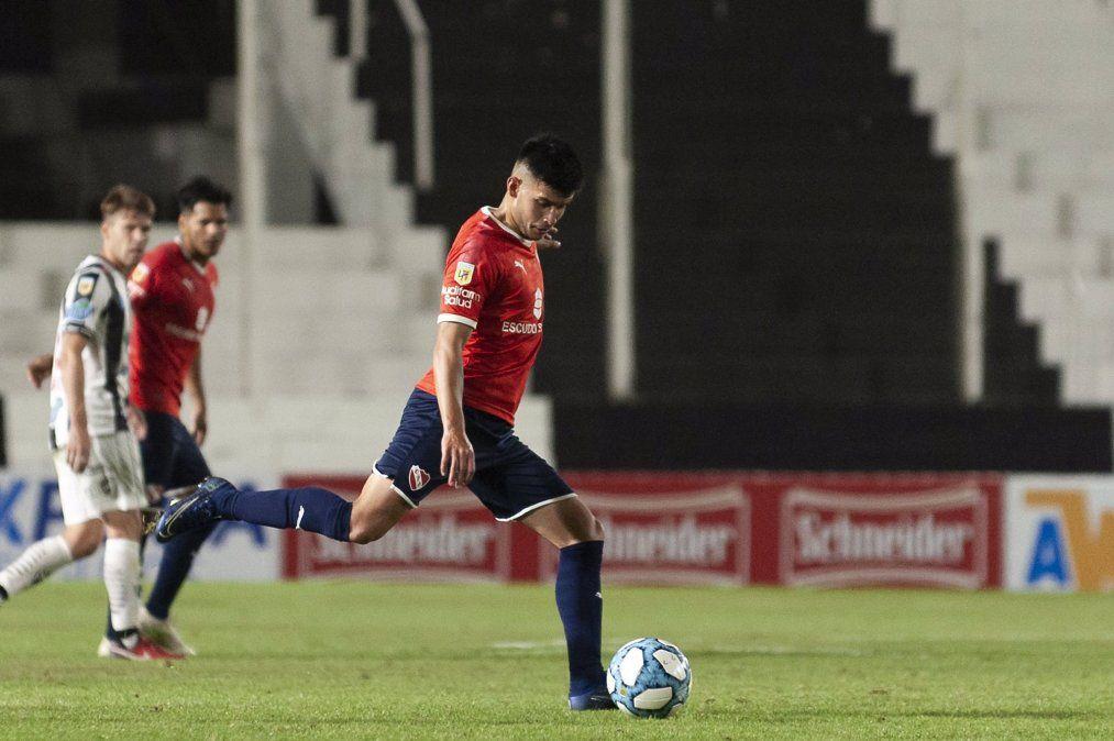 Juan Pacchini, de Brown a la primera de Independiente