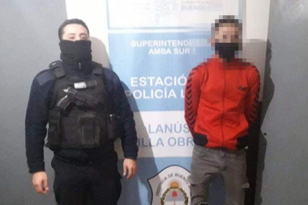 Lanús: detuvieron a un menor por robarle a un vecino en una parada de colectivo