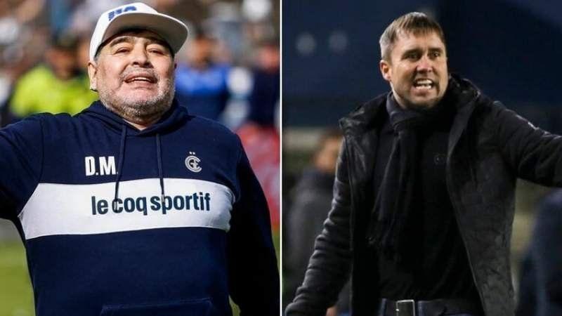 Diego Maradona debuta en Gimnasia y pide espantar la mufa