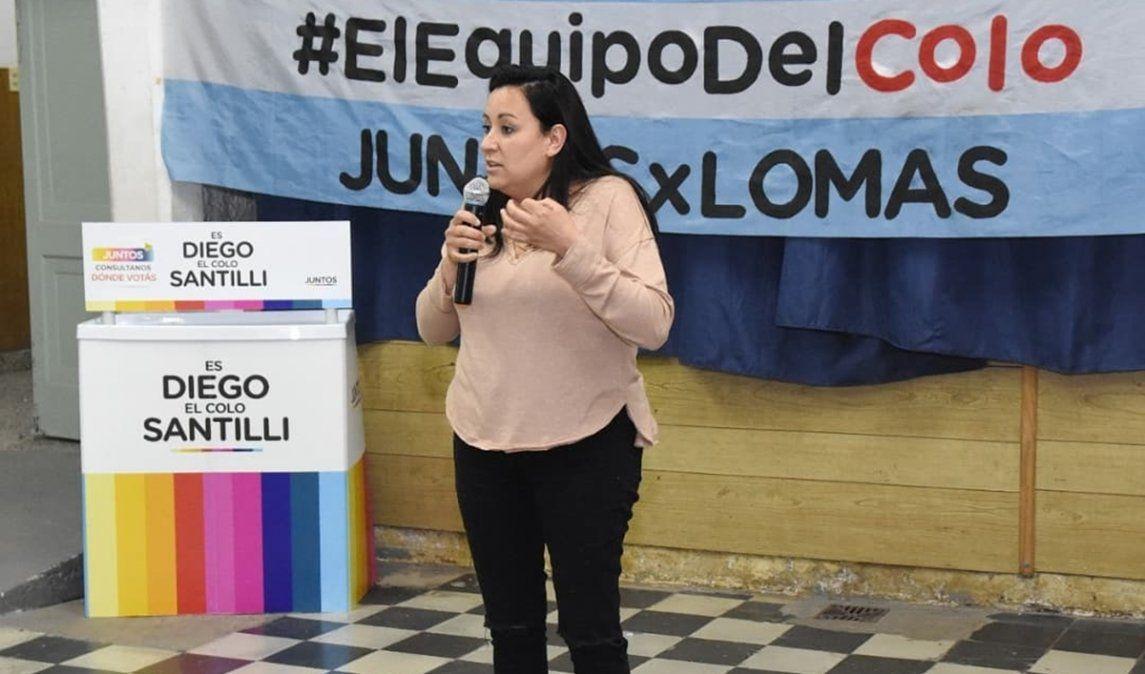 Cecilia Gómez ganó la interna de Juntos en Lomas de Zamora.