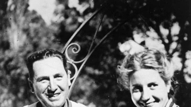 Las aventuras de Perón en San Vicente