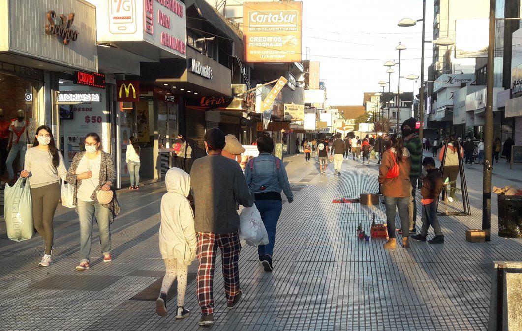 La peatonal Laprida