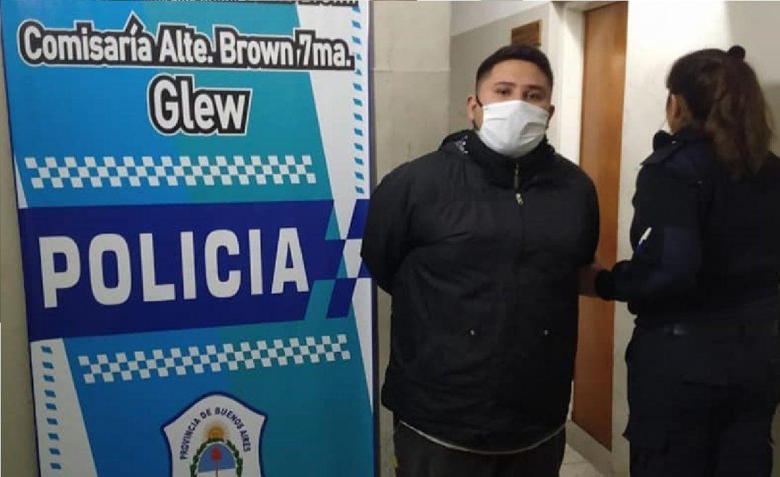 Robo brutal en Glew: detuvieron al hijo del secretario de Servicios de Presidente Perón
