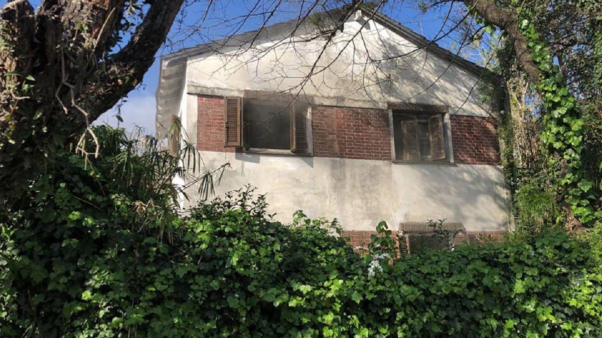 Incendio en una vivienda de Adrogué