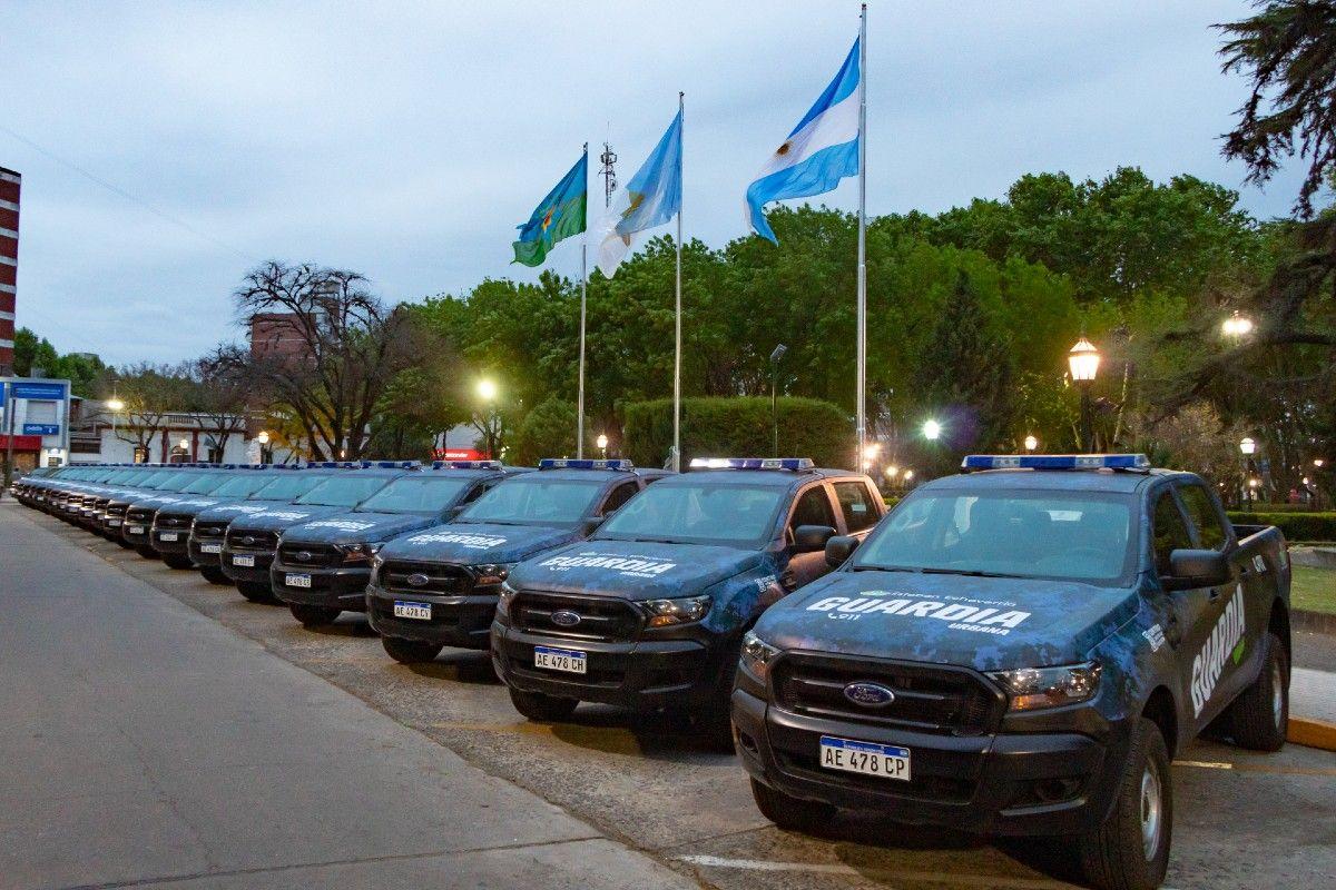 esteban echeverria: pondran en marcha 20 nuevos moviles de la guardia urbana del municipio