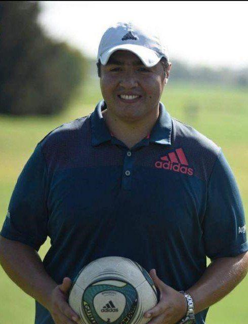 Guillermo Sandoval es uno de los jugadores más destacados de footgolf de Zona Sur.