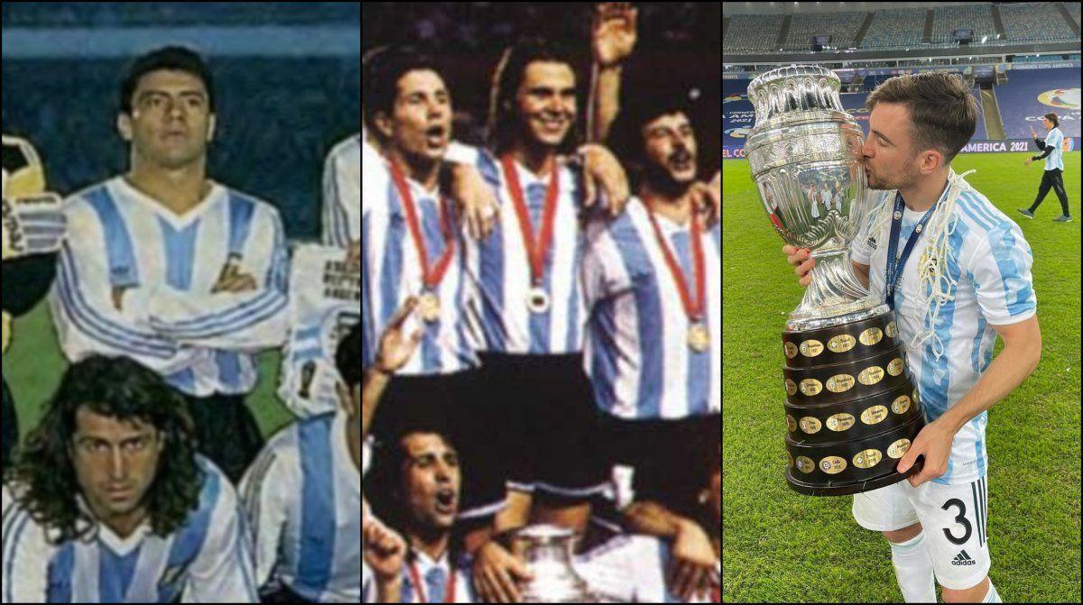 Almirante Brown, cuna de tres campeones de la Copa América