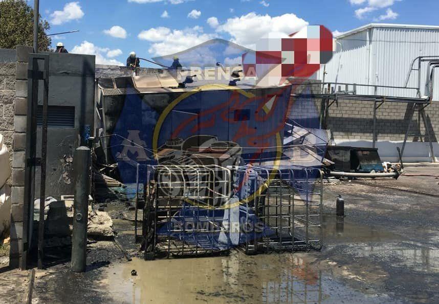 Incendio en el Parque Industrial de Almirante Brown
