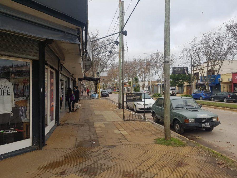 Nueva cuarentena en San Vicente: comercios abiertos y calles con menos gente