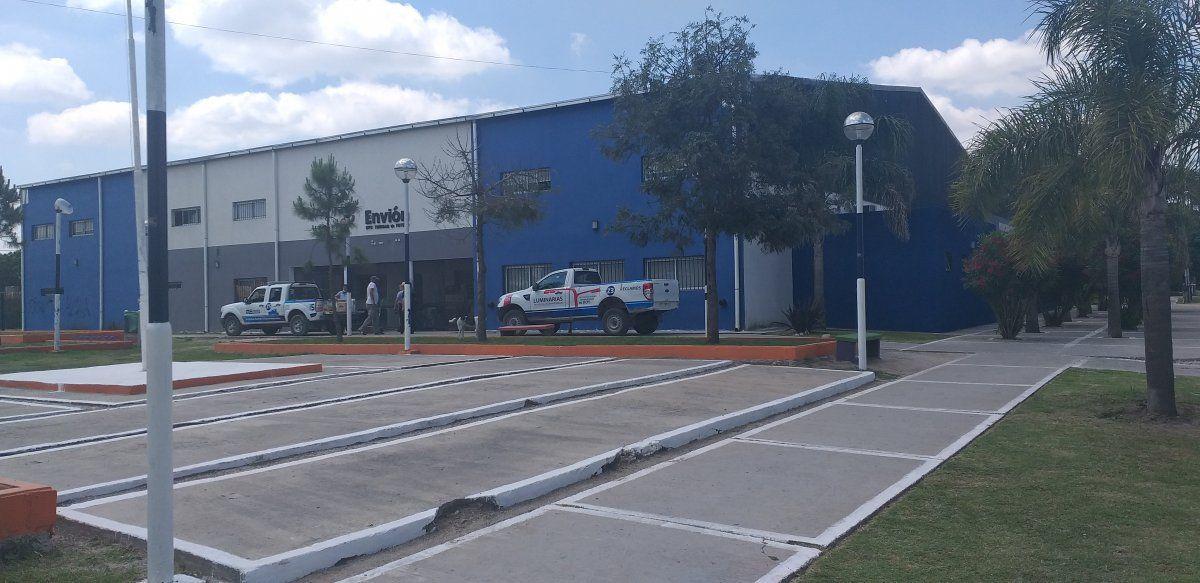 Complejo donde está ubicada la Secretaría de Desarrollo Social. Zapala al 400 en la localidad de La Unión.