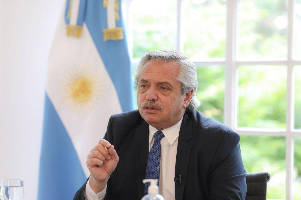 Alberto Fernández confirmó que las clases presenciales empezarán en marzo.