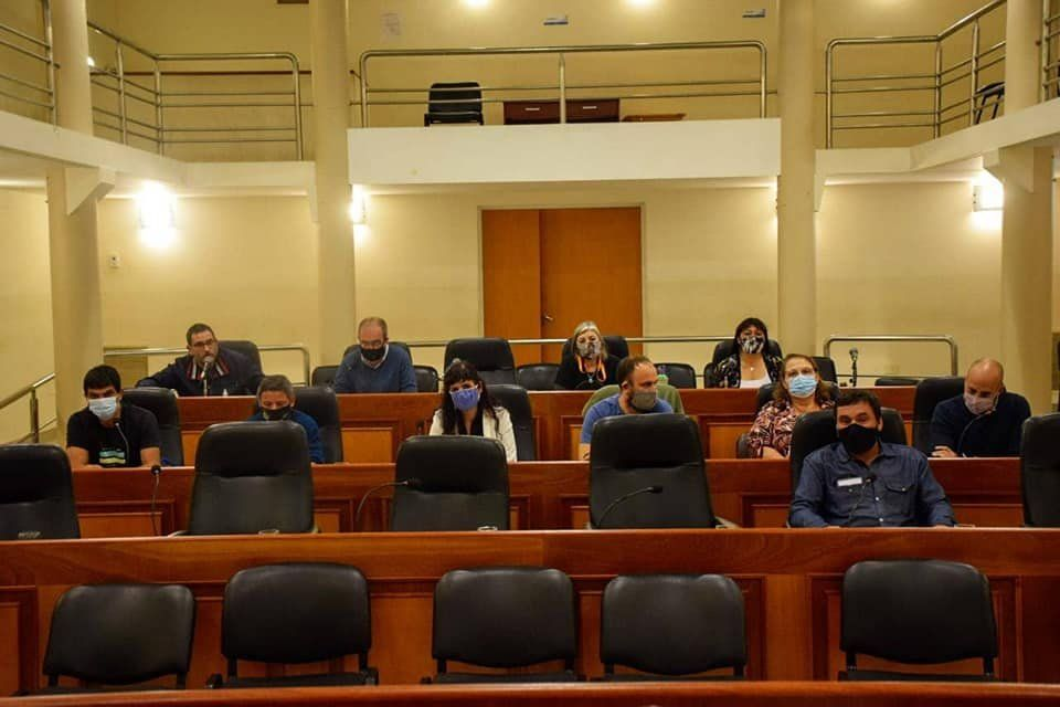 San Vicente: aprueban créditos al Municipio para comprar maquinaria