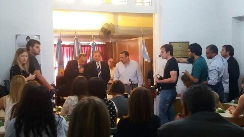 Juraron los concejales electos en Esteban Echeverría