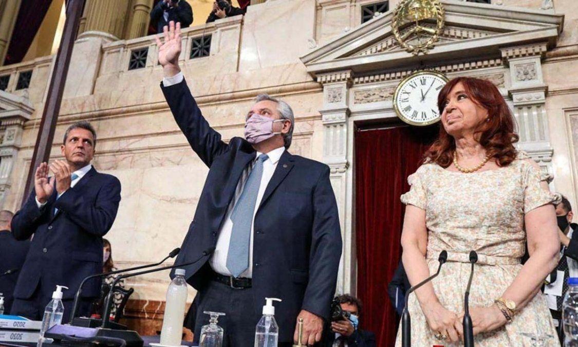 Terminó el discurso de Alberto Fernández ante el Congreso: el resumen y los puntos más importantes