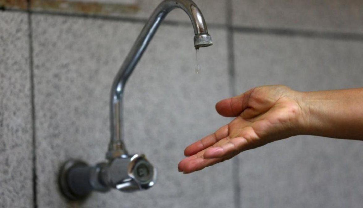 Este miércoles 30 habrá cortes de agua en Brown y Lomas