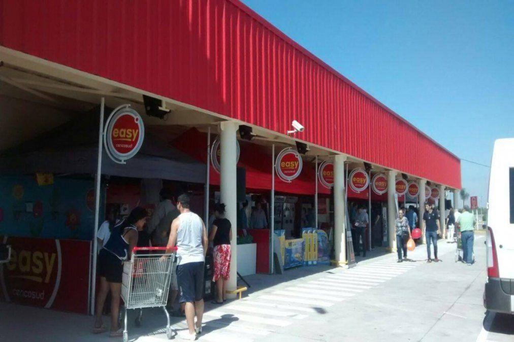 El nuevo local de Easy en Lanús estará en la avenida Hipólito Yrigoyen 3043, junto al supermercado Vea.