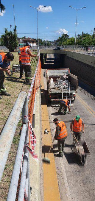 Rompe paga: el Municipio demandará por daños al conductor que cayó en el túnel El Jagüel