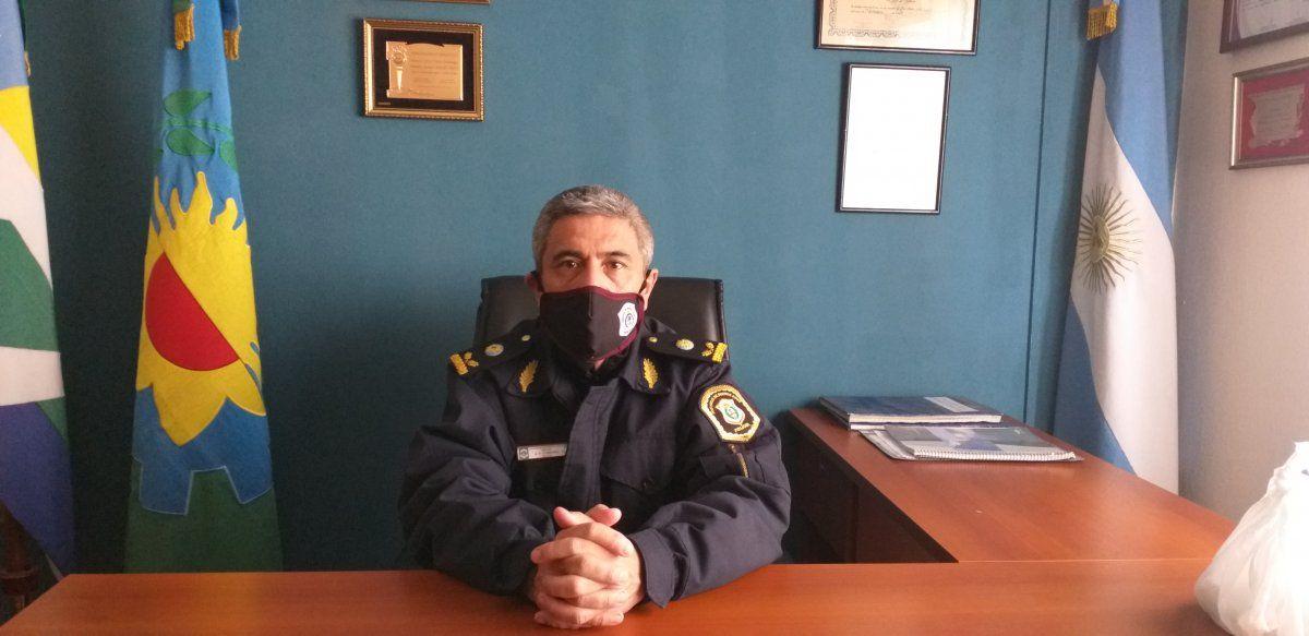 El Jefe de Estación Policial de Ezeiza fue inflexible con aquellos que intenten usurpar tierras.